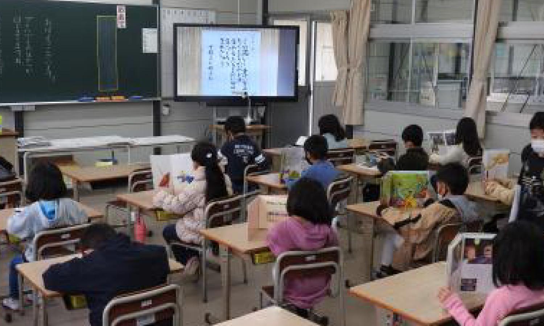 西条市立飯岡小学校仮設校舎